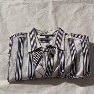 Sean John Size XXL Striped Long Sleeve Shirt